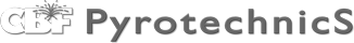CBF Pyrotechnics logo